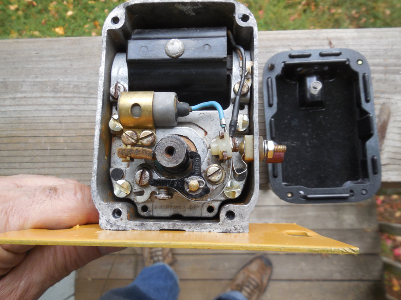 Frazer Rototiller Wico XH145C magneto rebuilt