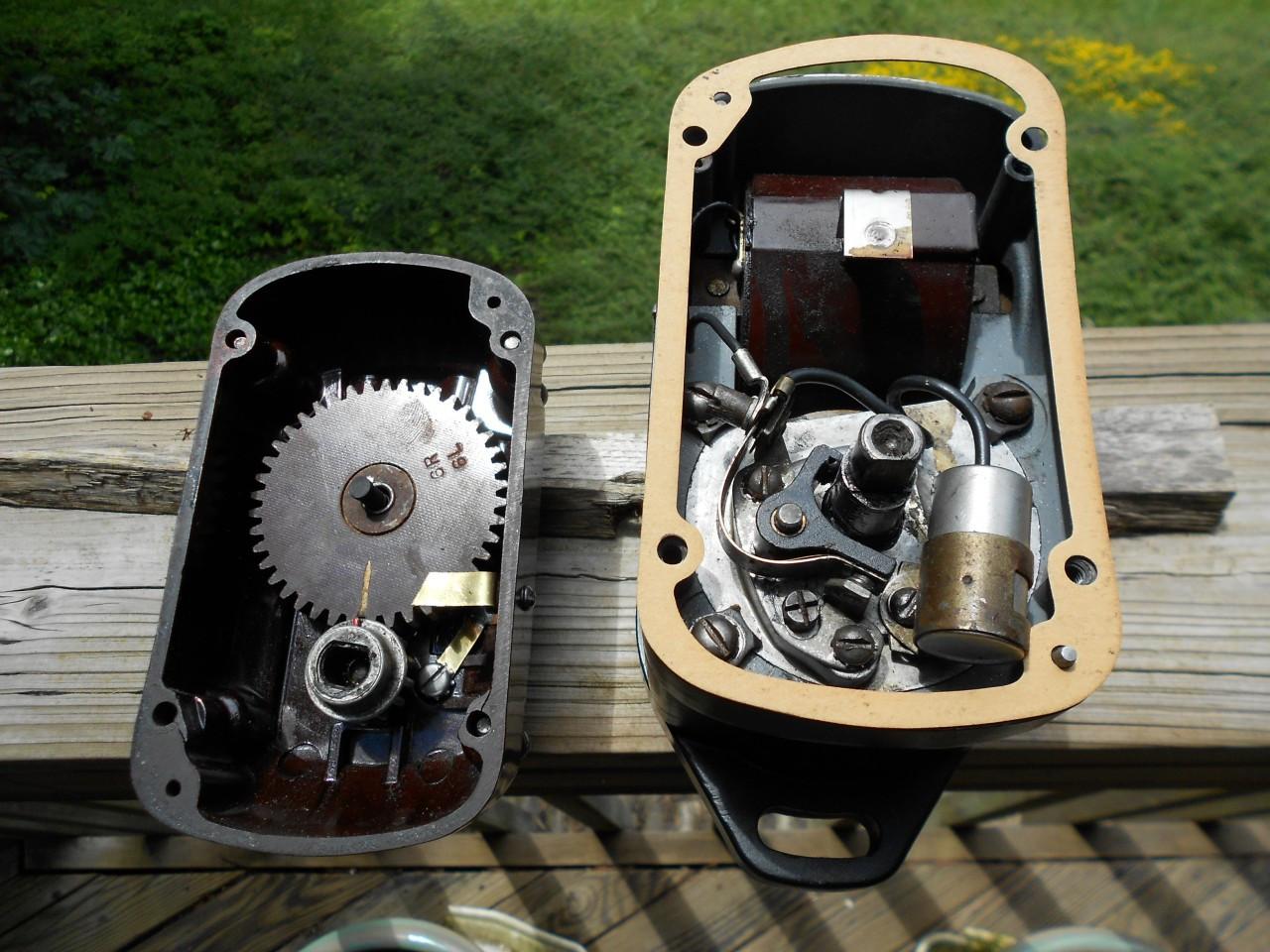 CleTrac Rebuilt Am Bosch MJC6C 326 CW 6 Cylinder Flange Mt Magneto