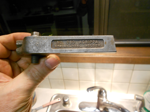 NO 080 Williams Agrippa Boring Toolholder