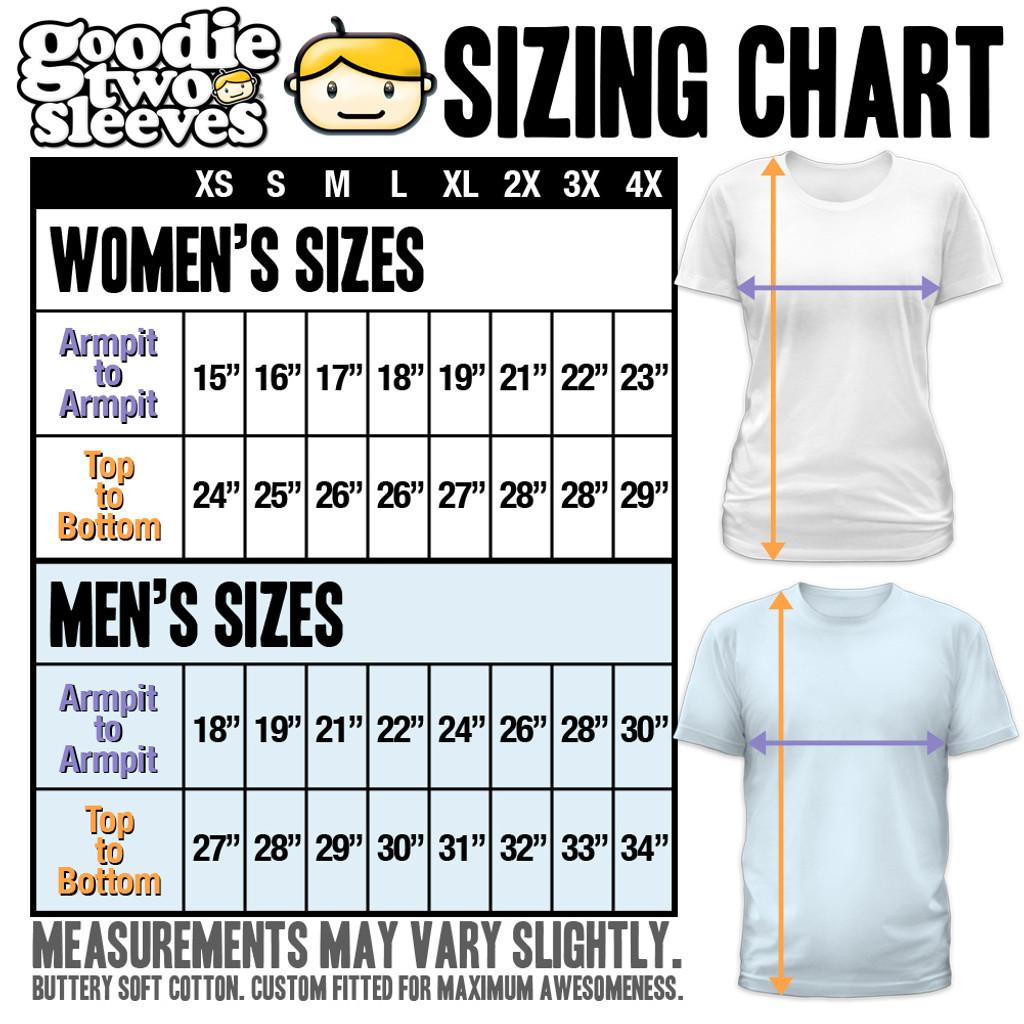 girls shirt size chart