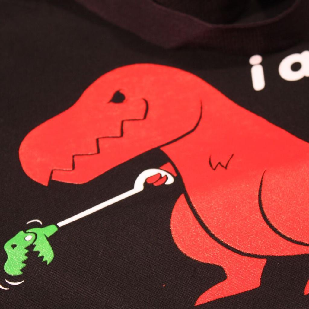 Sad T-Rex Dino/Unstoppable Dino Reversible Tote Bag