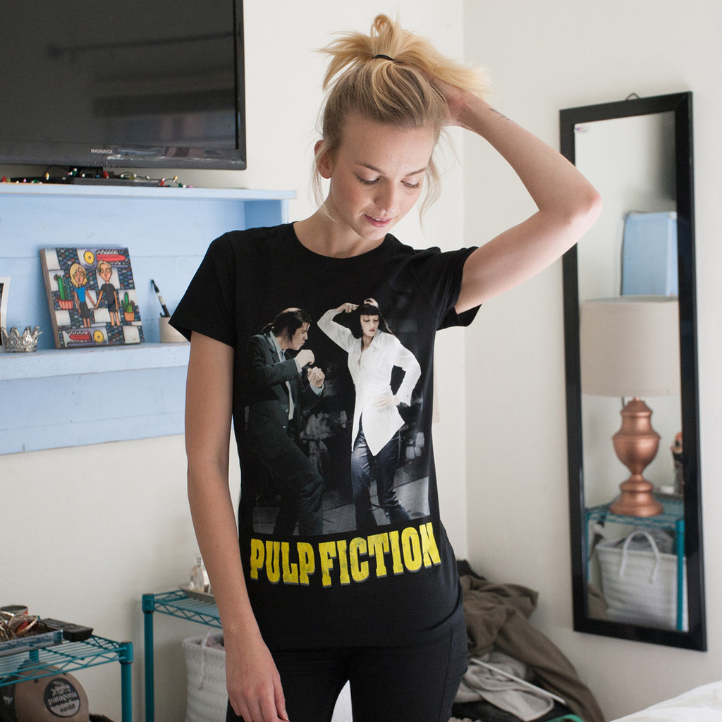 Pulp Fiction Dance Off Girls T-Shirt