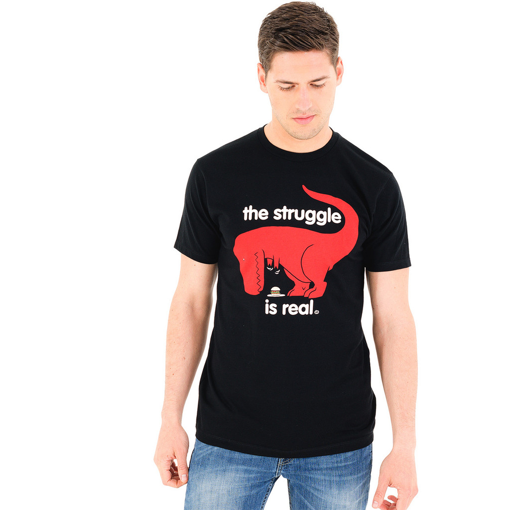 The Struggle Is Real Dino T-Shirt
