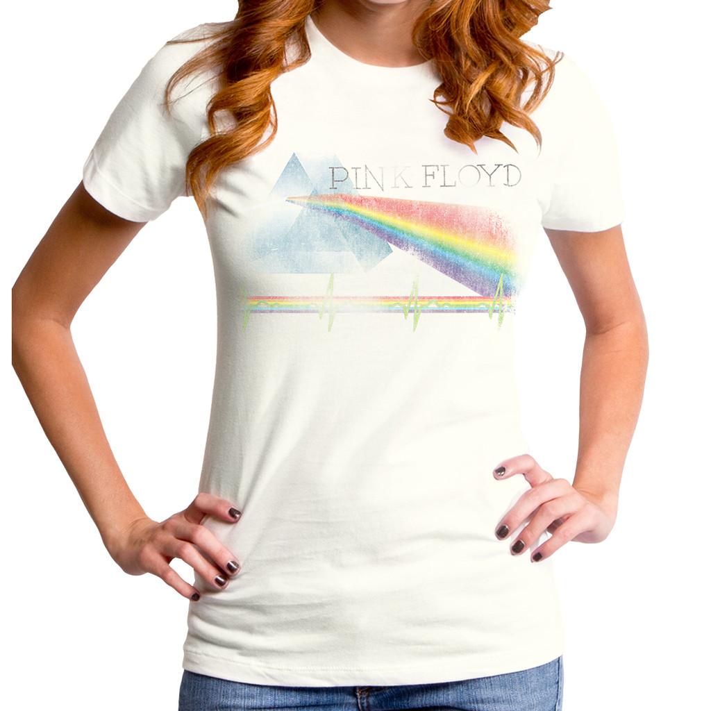 2579e9ff51ba83 Pink Floyd Prism Color Women s T-shirt