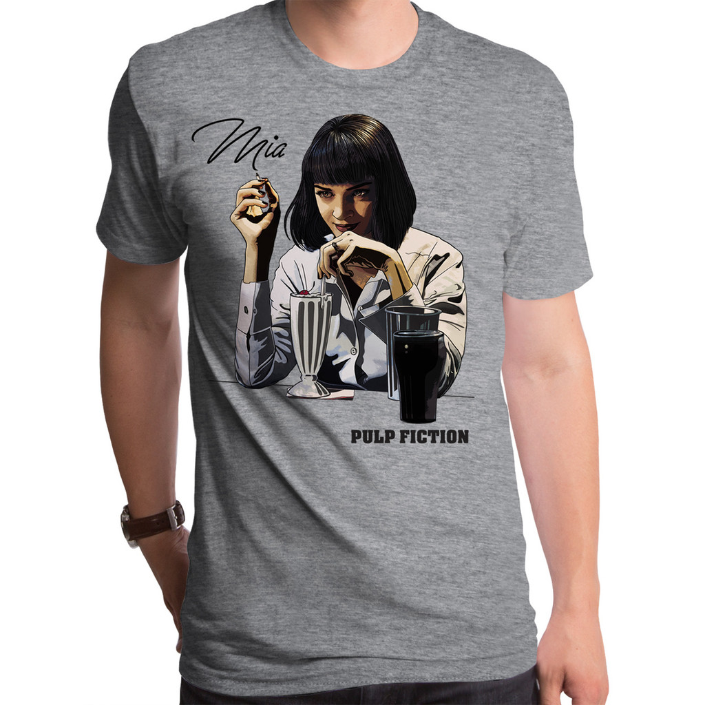 Pulp Fiction  Mia Milkshake T-Shirt