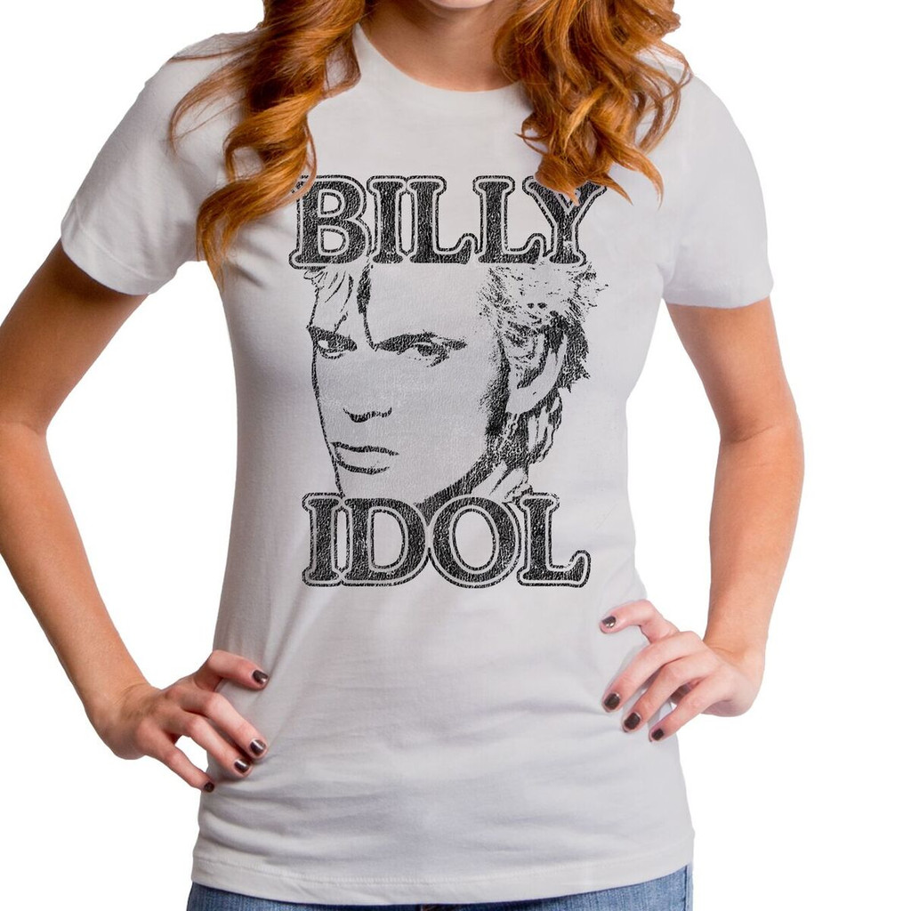 Billy Idol Girls T-Shirt