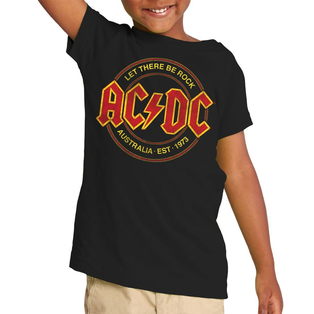 AC/DC Let There Be Rock Toddler T-Shirt