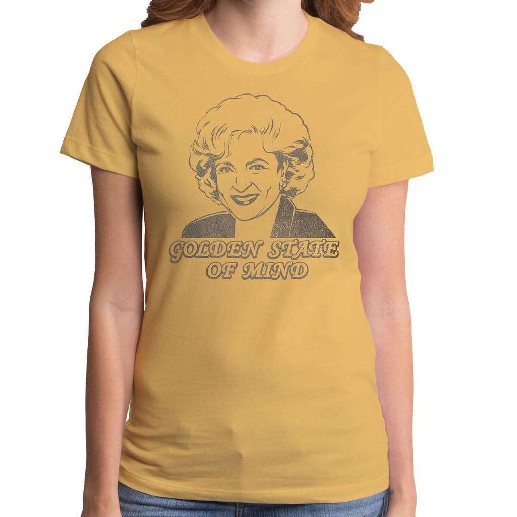 ae12ac8a1 The Golden Girls State of Mind Girls T-Shirt, Rose Nylund, Betty ...