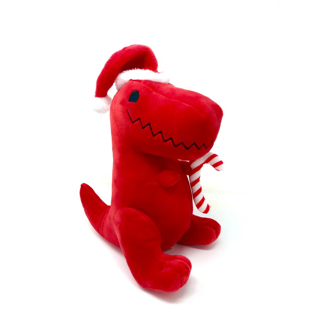 Holiday Rex Dinosaur Plush