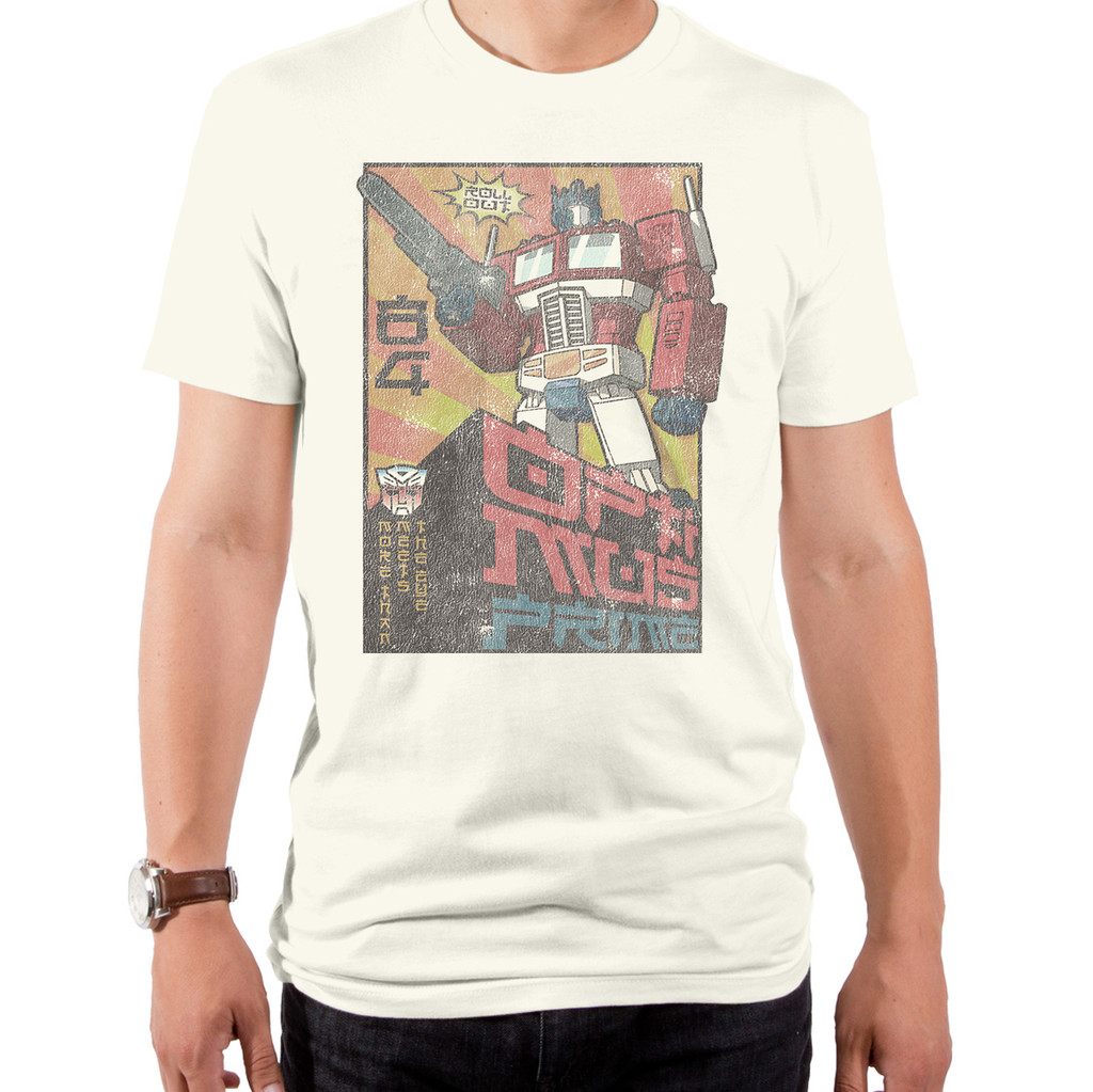 Transformers Asian Optimus T-Shirt