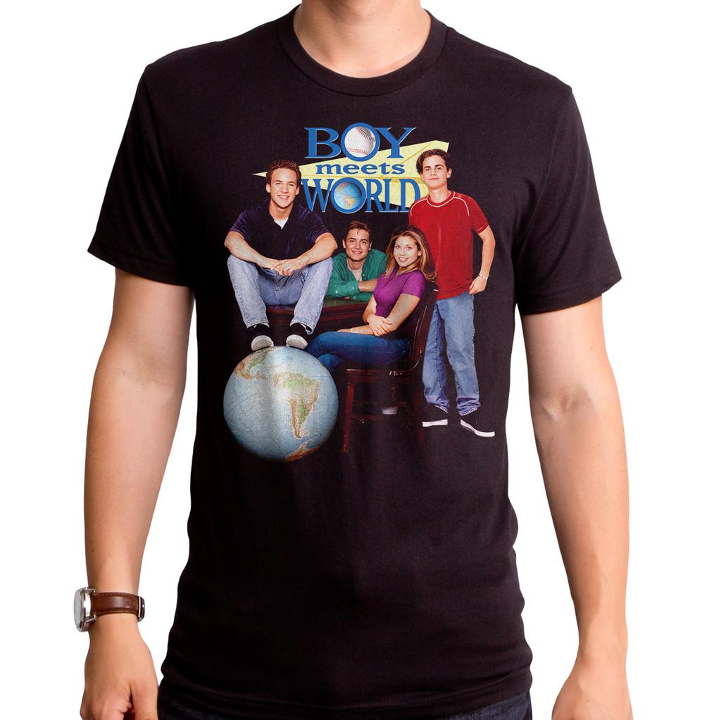 Boy Meets World Poster T-Shirt