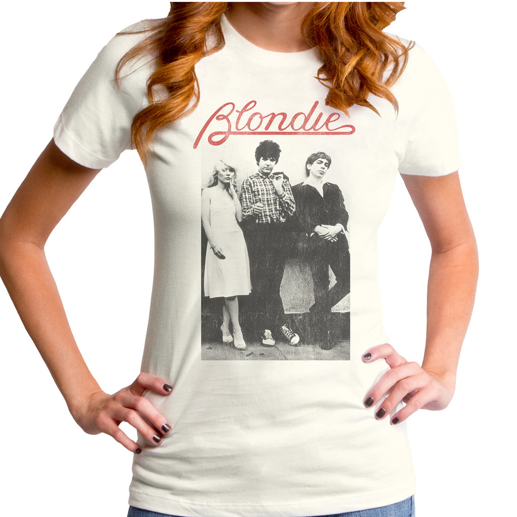 Blondie Wallflowers Logo Girls T-Shirt