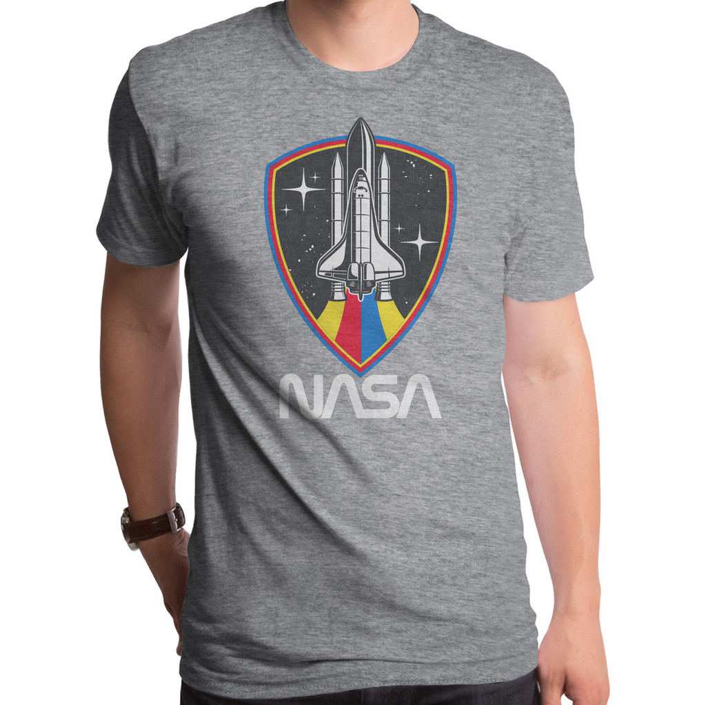 NASA Shuttle Shield T-Shirt