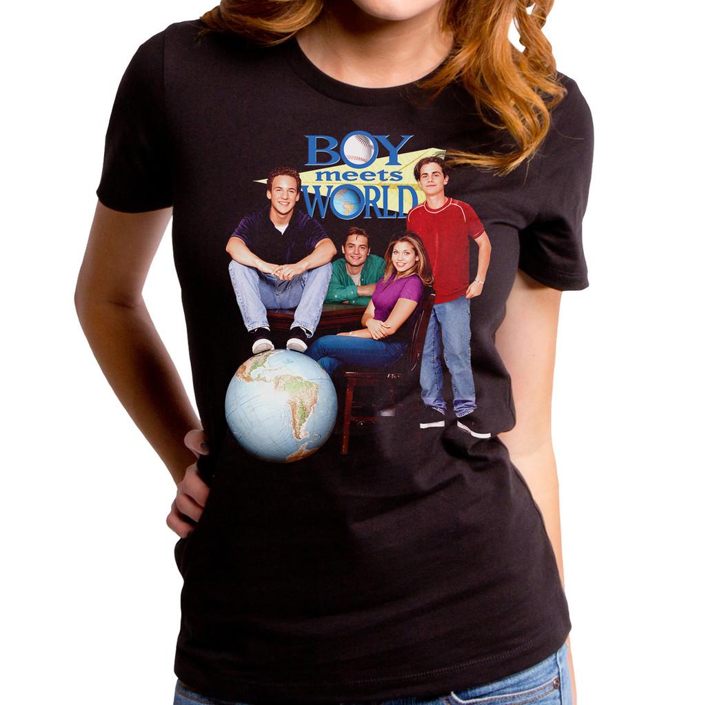 Boy Meets World Poster Girls T-Shirt
