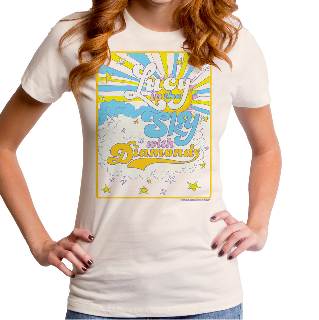Lucy In The Sky With Diamonds Girls T-Shirt