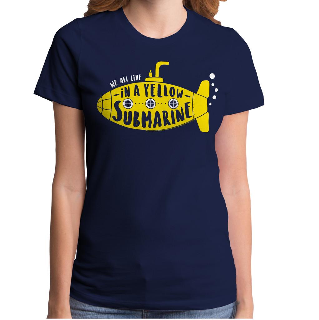 Yellow Submarine Girls T-Shirt