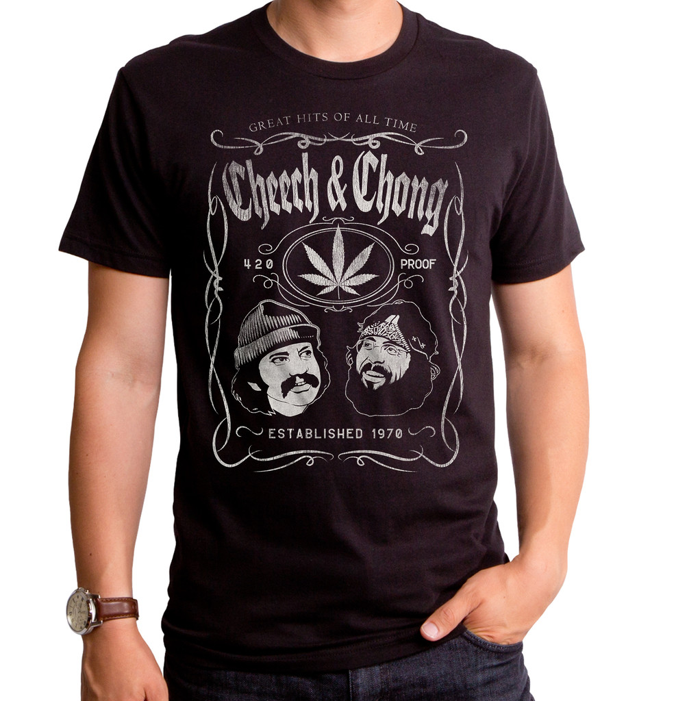 Cheech and Chong Label T-Shirt