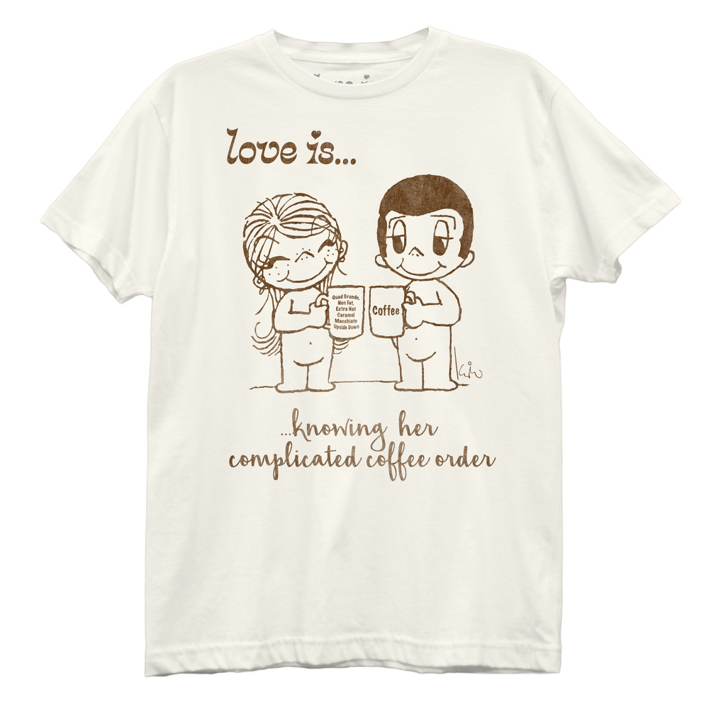 Love Is Coffee Order Best Boyfriend T-Shirt