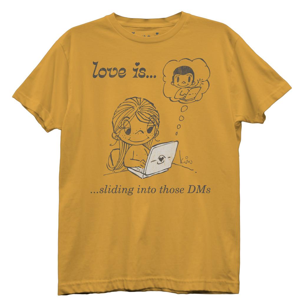 Love Is Sliding Into The DMs Best Boyfriend T-Shirt