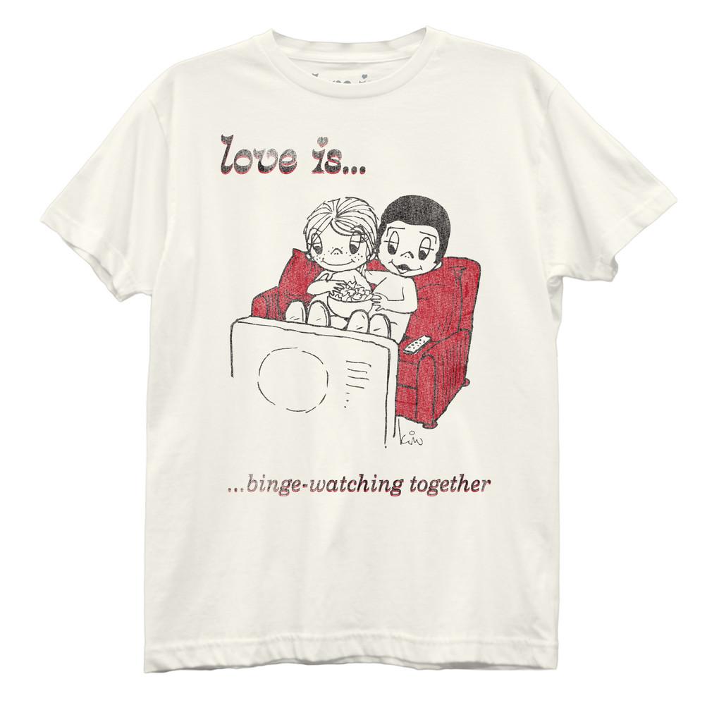 Love Is Binge Watching Dark Best Boyfriend T-Shirt