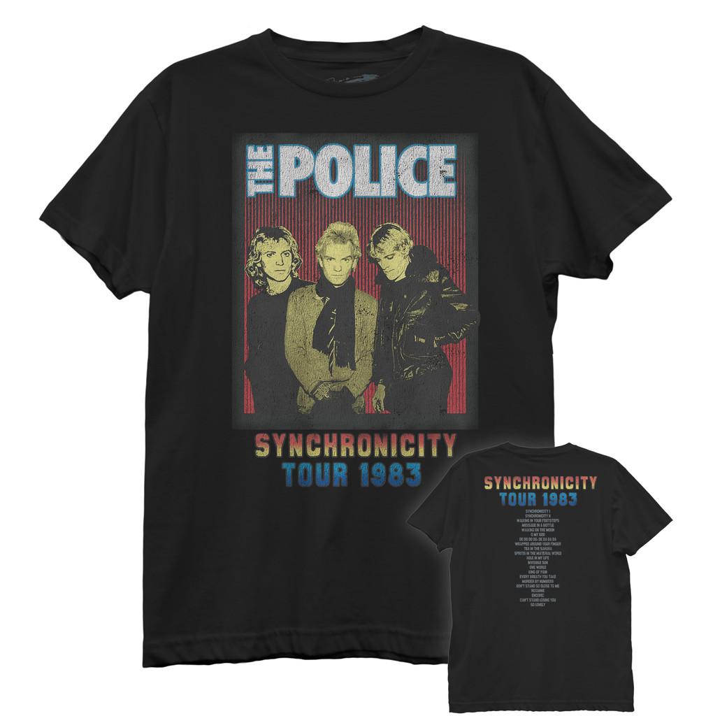 The Police Synchronicity Tour 1983 Best Boyfriend Tee