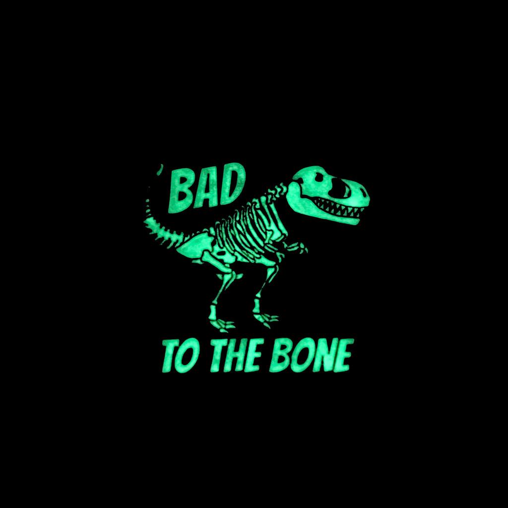 Bad To The Bone Dinosaur Lapel Pin