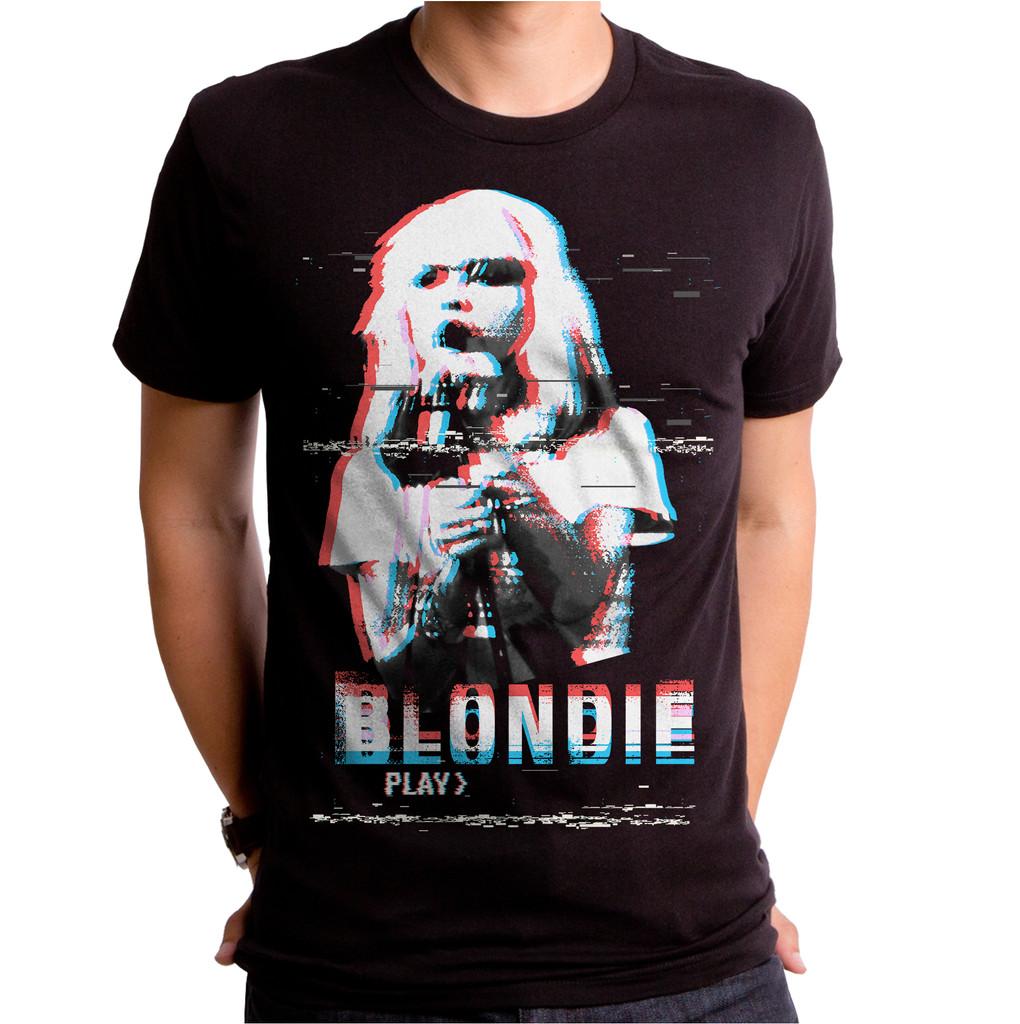 Blondie Video Screen T-Shirt