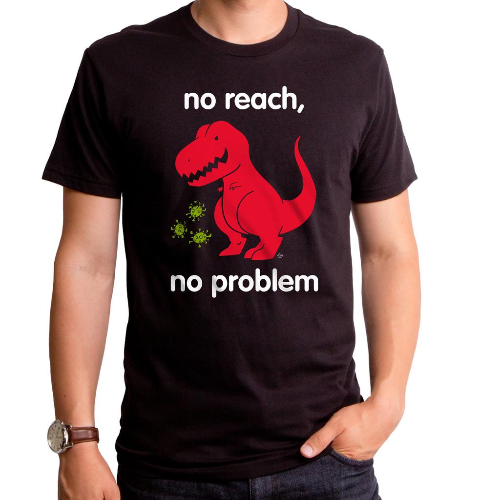 Virus No Reach Dinosaur T-Shirt