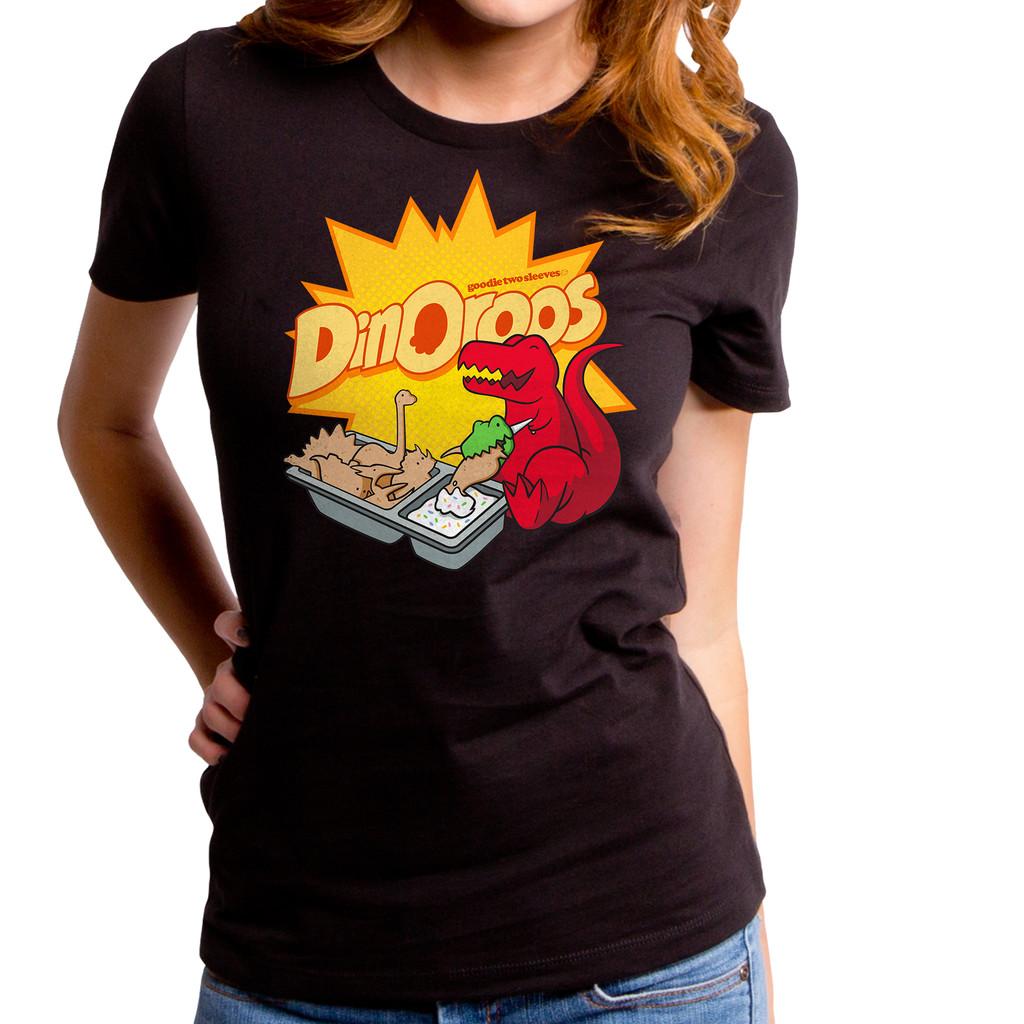 Dinoroos Dinosaur Girls T-Shirt