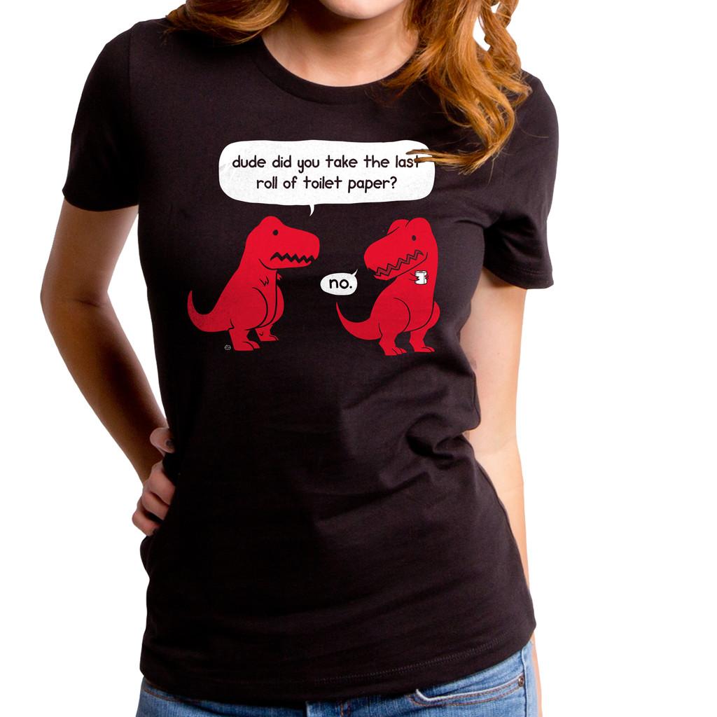 The Last Roll Dino Girls T-Shirt