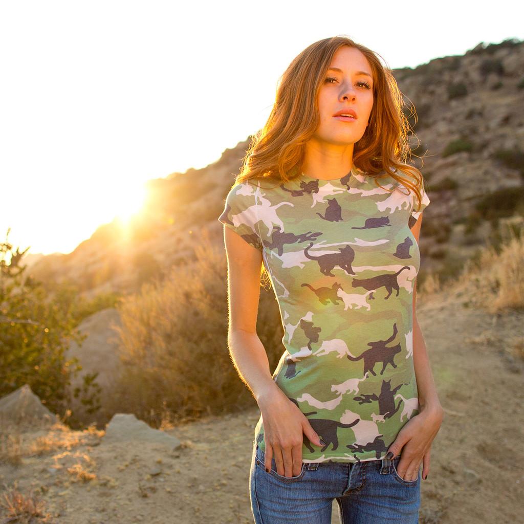 Catmouflage Girls Sublimated T-Shirt