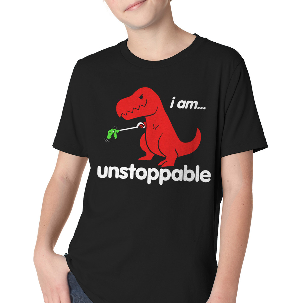 Unstoppable Dino Youth T-Shirt