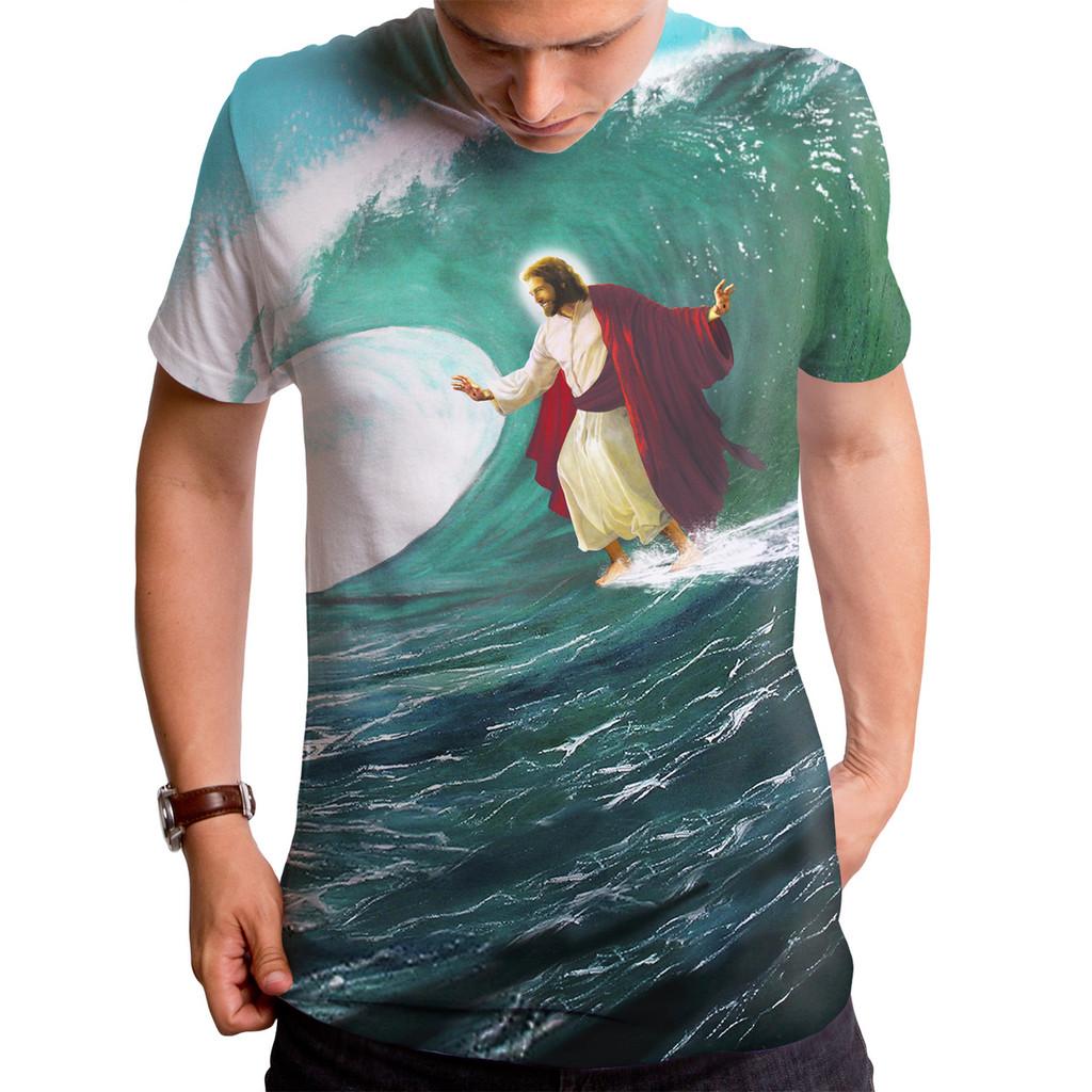 e1ecff11 Surfing Jesus T Shirt, Surfing Jesus, Funny Jesus Shirt - Goodie Two ...