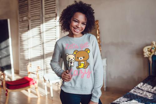 Rilakkuma Let's Get Lazy Unisex Sweatshirt