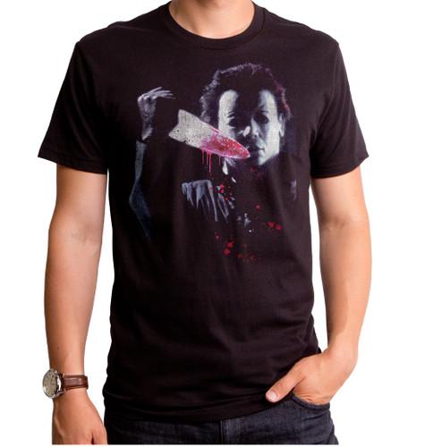 Halloween Knife Mask T-Shirt