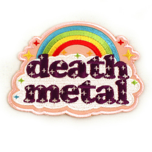 Death Metal Iron-On Patch