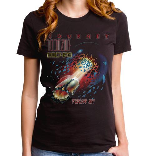 Journey Escape Tour 81 Girls T-Shirt