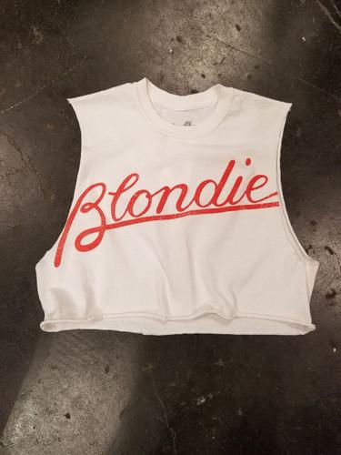Blondie Logo Girls Crop Top
