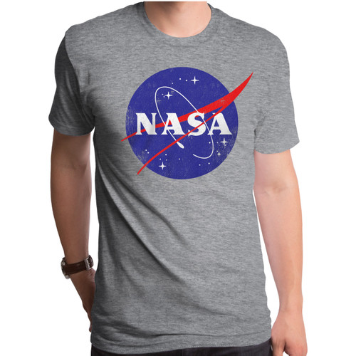 NASA Logo Distress T-Shirt
