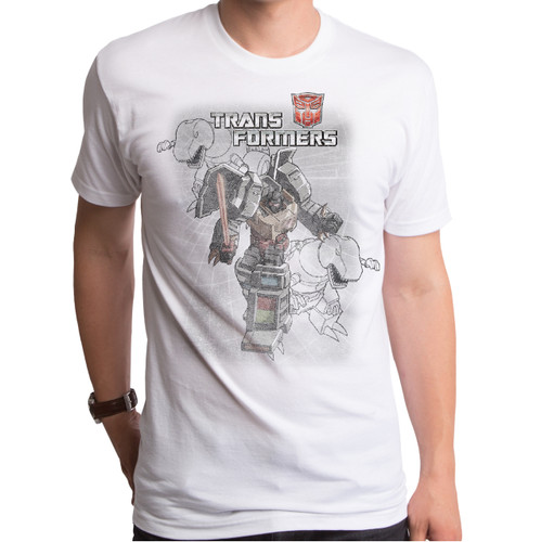Transformers Grimlock Distress T-Shirt