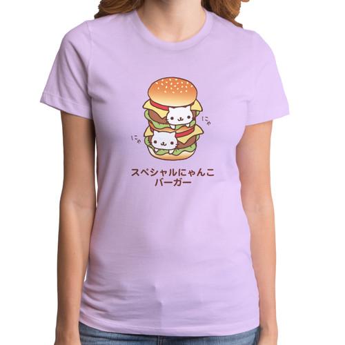 Double Nyan Nyan Girls T-Shirt