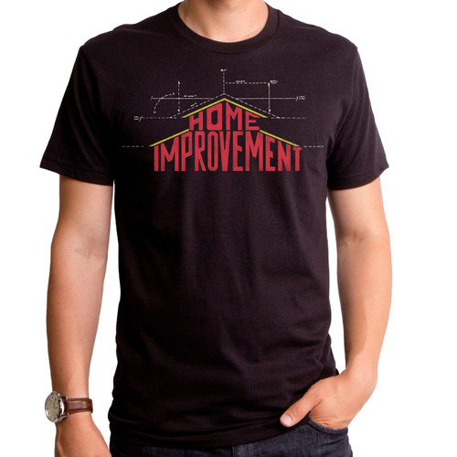 Home Improvement Blue Print T-Shirt