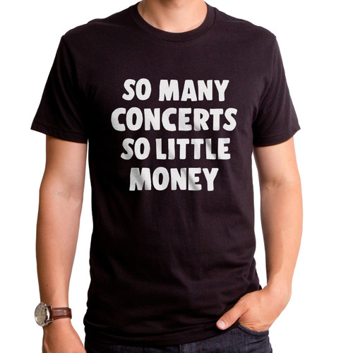 So Many Concerts T-Shirt