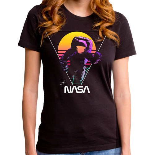 NASA Star Gazing Girls T-Shirt