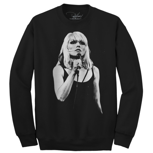 Debbie Harry Open Mic Unisex Sweatshirt