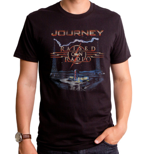 Journey Raised On The Radio T-Shirt