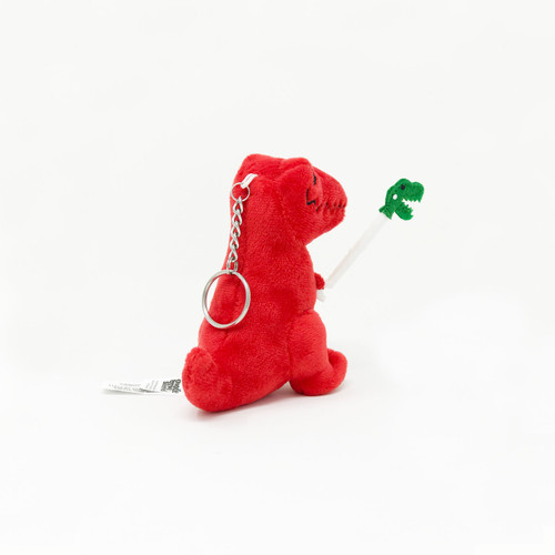 Unstoppable Dino Plush Mini Keychain