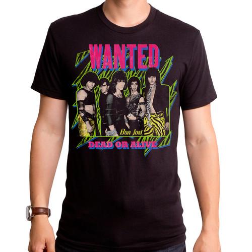 Bon Jovi Wanted T-Shirt