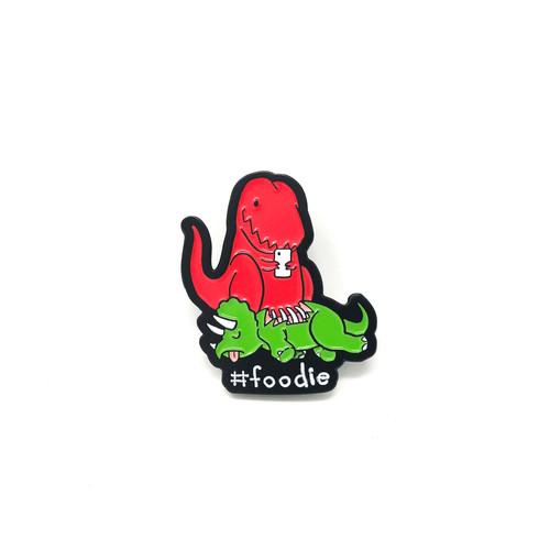 Foodie Dino Lapel Pin