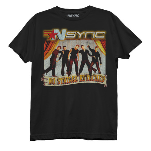 NSYNC No Strings Attached Best Boyfriend Tee
